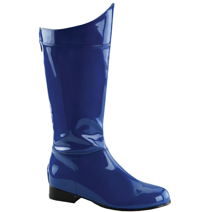 Hero 100 Blue-Pat Md Boot 10-11 - Shoes & Boots