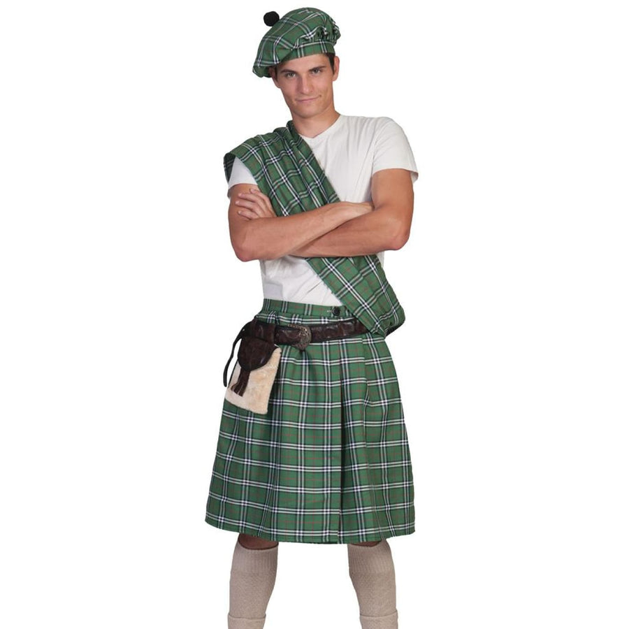 Highlander Green Mens Costume Standard - adult halloween costumes halloween