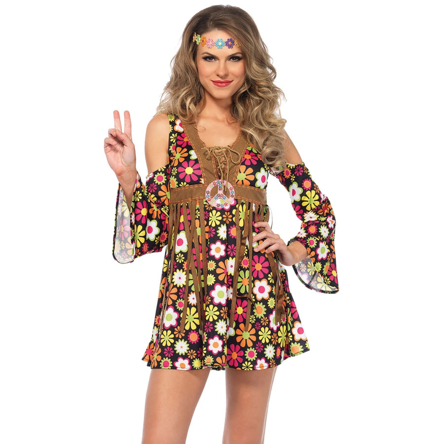 Hippie Starflower Womens Costume Xl - adult halloween costumes Halloween