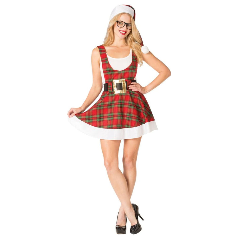 Hipster Ms Claus Womens Costume - adult halloween costumes Halloween Costumes