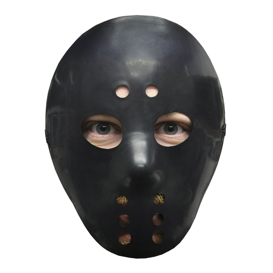 Hockey Mask Black - Halloween costumes Hats Tiaras & Headgear Serial Killer