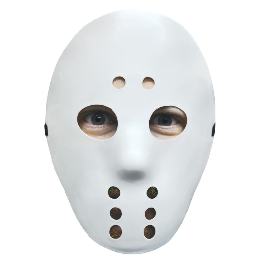 Hockey Mask White - Costume Masks Halloween costumes Halloween Mask Halloween