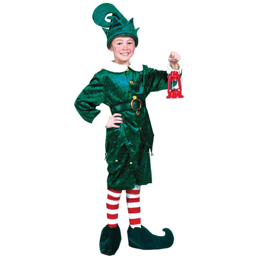 Holly Jolly Elf Boys Costume Size 4 - Boys Costumes Halloween costumes New