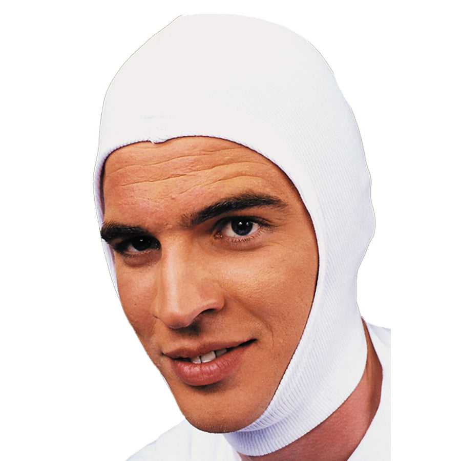 Hood Stretch White - Halloween costumes Hats Tiaras & Headgear