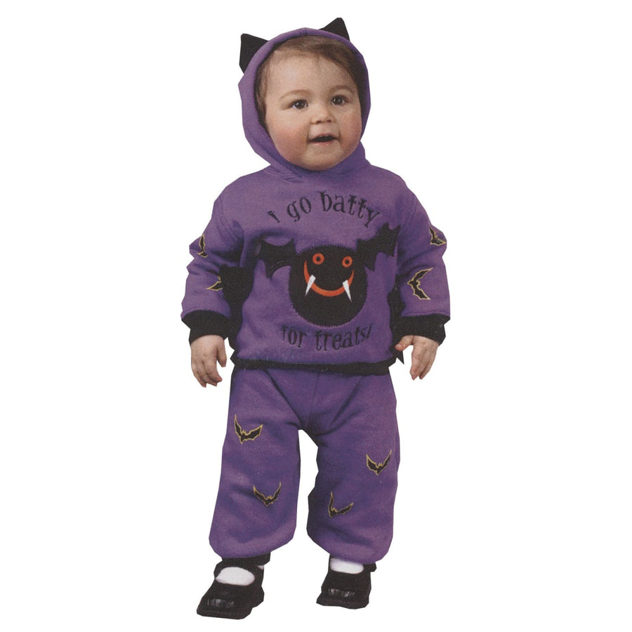 Hooded Bat 2Pc Toddler Costume 18 24 Months - Animal & Insect Costume Halloween