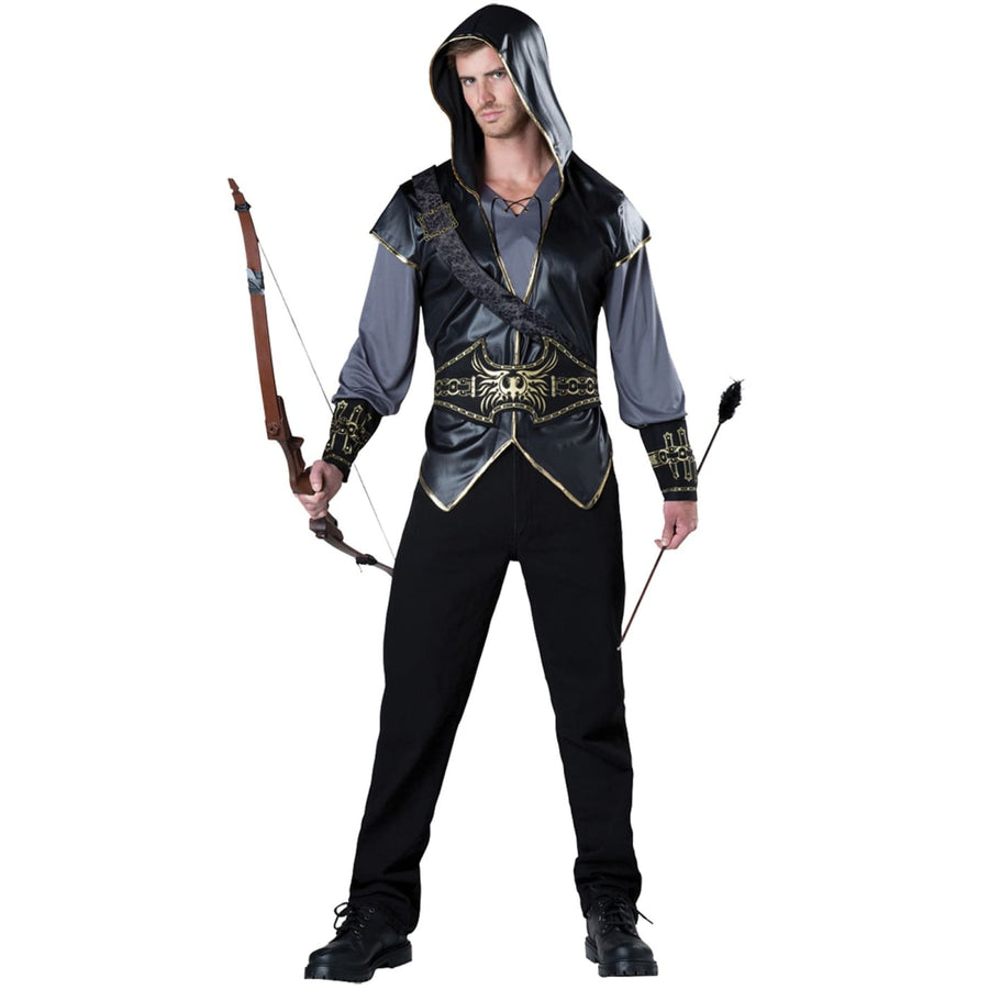 Hooded Huntsman Adult Costume Medium - adult halloween costumes halloween