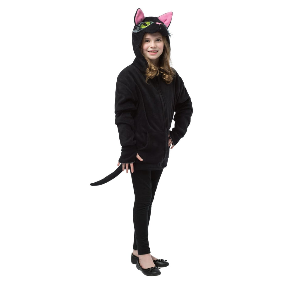 Hoodie Black Cat Teen Costume 13-16 - Girls Costumes Halloween costumes