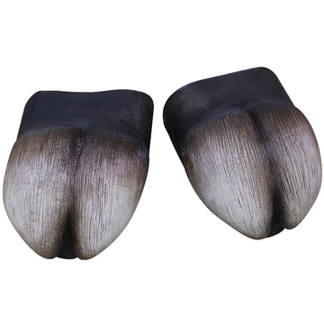 Hooves Cover Feet Latex - Halloween costumes Hands Feet & Chest