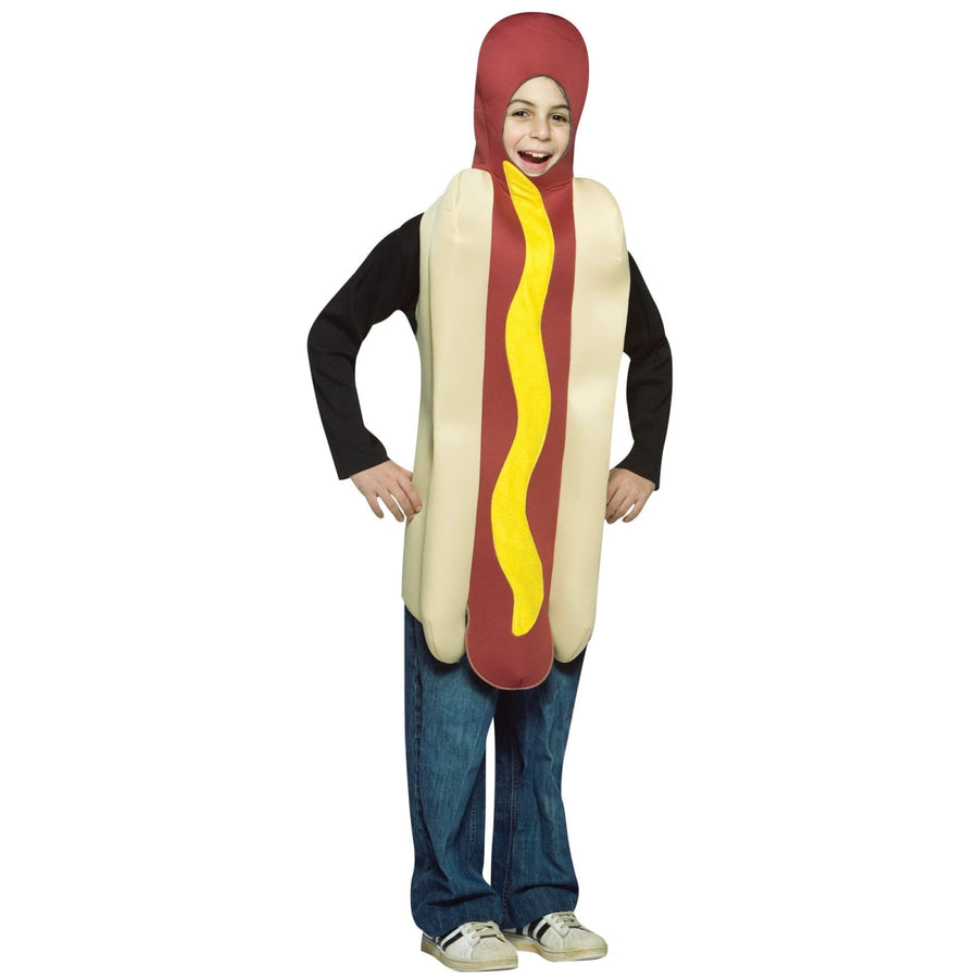 Hot Dog Boys Costume 7-10 - Boys Costumes boys Halloween costume Food & Drink
