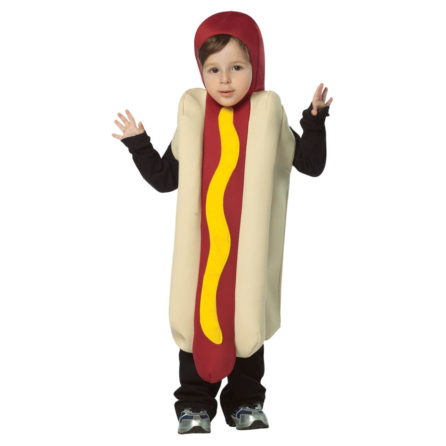 Hot Dog Boys Costume Lightweight Boys Costume Small 4-6 - Boys Costumes