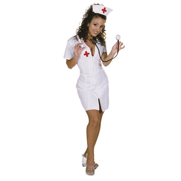 Hot Flash Lg - adult halloween costumes Doctor & Nurse Costume female Halloween