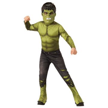 Hulk Avengers 4 Boys Costume Small - Boys Costumes New Costume