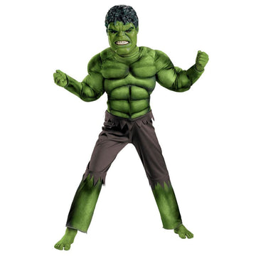 Hulk Avengers Classic Boys Costume Large 10-12 - Boys Costumes boys Halloween