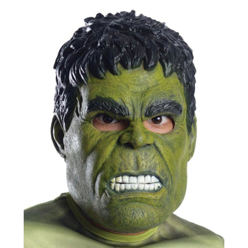 Hulk Child Costume 3 Qtr Costume Mask - Costume Masks Halloween costumes
