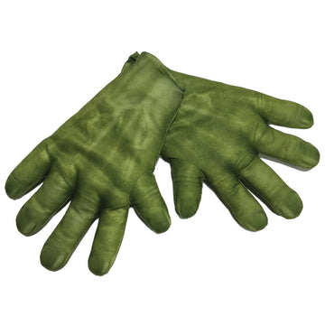 Hulk Child Gloves - Glasses Gloves & Neckwear Incredible Hulk Costume superhero