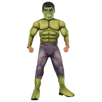 Hulk Deluxe Boys Costume Medium - Boys Costumes Halloween costumes superhero
