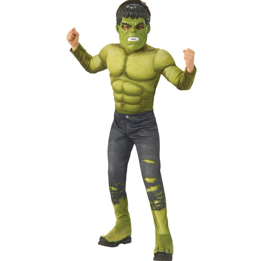 Hulk Deluxe Kids Infinity War Md - Halloween costumes New Costume superhero