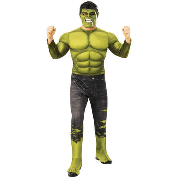 Hulk Deluxe Mens Costume Xlarge 50 - Mens Costumes Mens Plus Size Costumes New