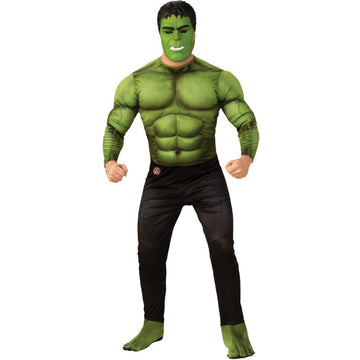 Hulk Deluxe Mens Costume Xlarge - Mens Costumes Mens Plus Size Costumes New