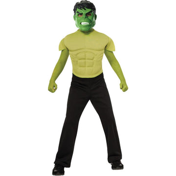Hulk Shirt & Mask Boys Costume Large 8-10 - Boys Costumes boys Halloween costume