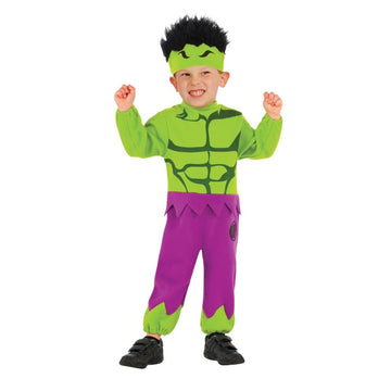 Hulk Toddler Costume 2T-4T - New Costume Toddler Costumes