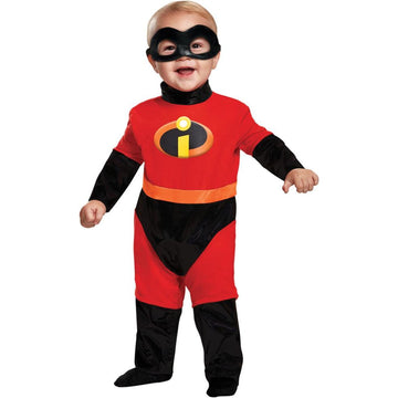Incredibles Toddler Costume Classic 12-18 Months - Halloween costumes
