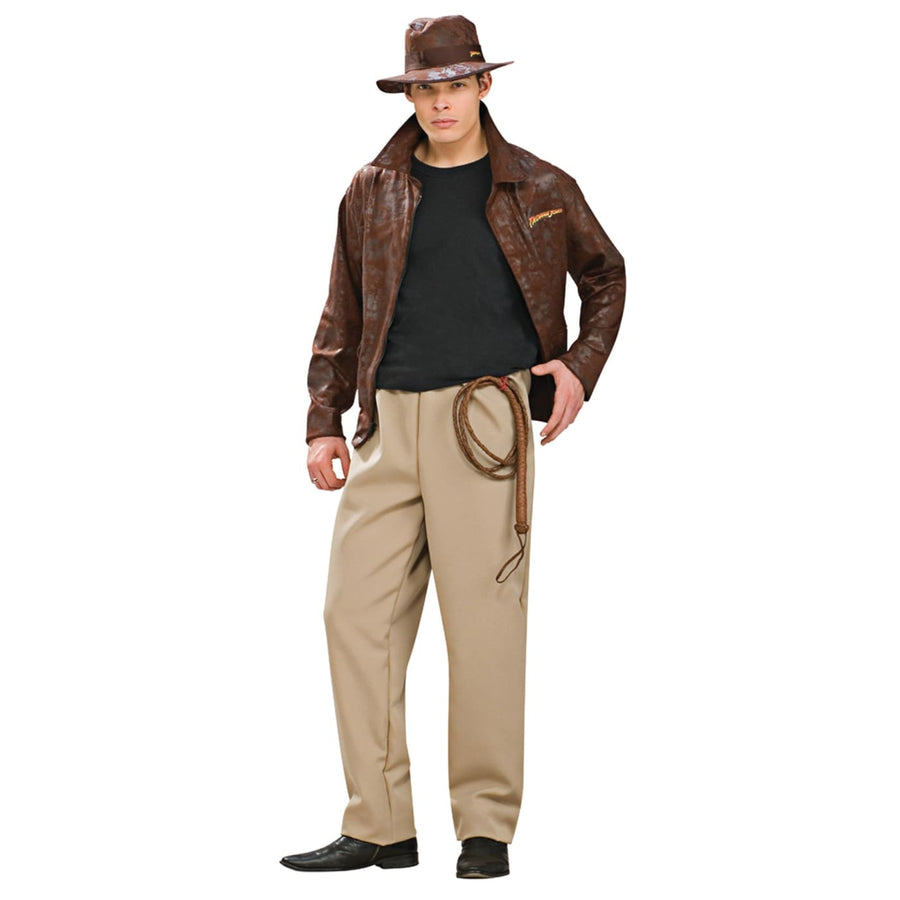 Indiana Jones Dlx Adult Std - adult halloween costumes halloween costumes