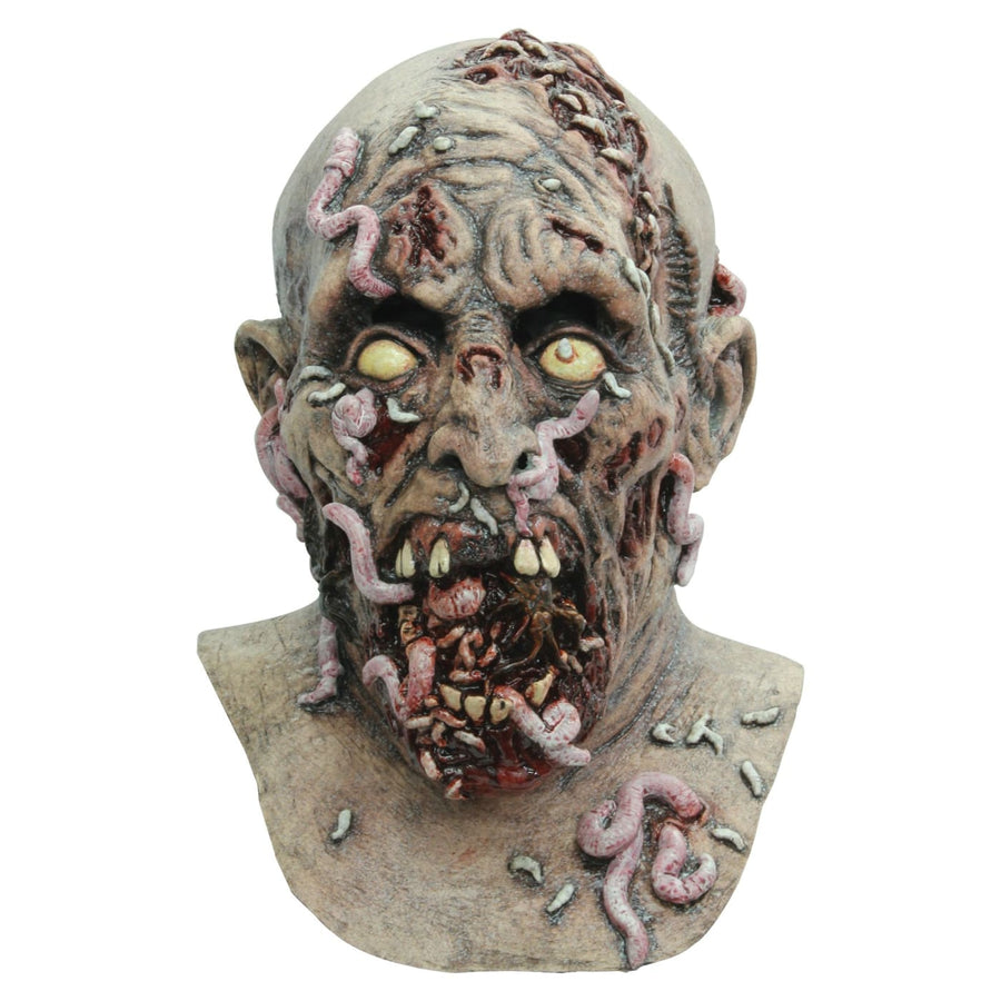 Infestado Adult Latex Mask - Costume Masks Ghoul Skeleton & Zombie Costume