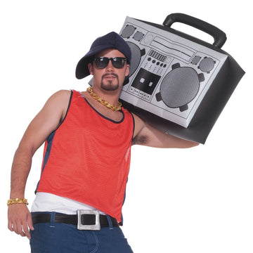 Inflatable Boom Box - 80s Costume Gangster & Flapper Costume Halloween costumes