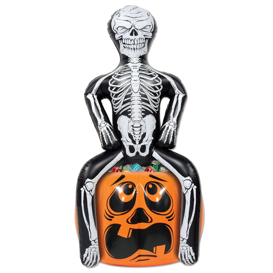 Inflatable Skeleton Cooler - Decorations & Props Halloween costumes haunted