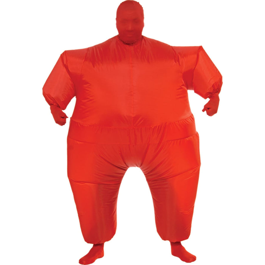 Inflatable Skin Suit Adult Costume Red - adult halloween costumes halloween