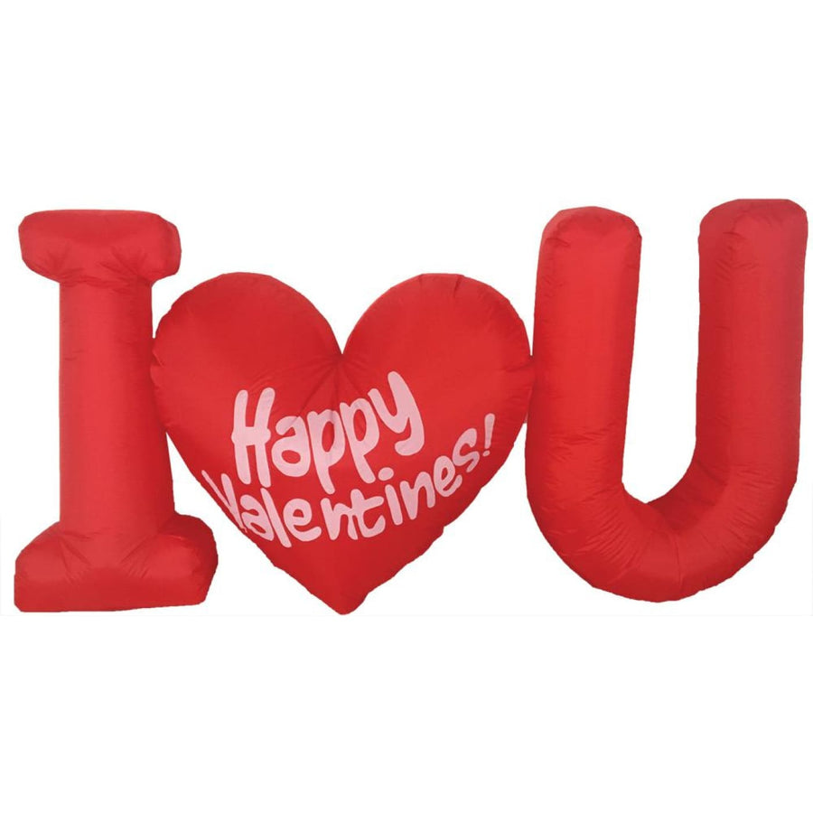 Inflated Valentines Day 4Ft Led - Halloween costumes New Costume