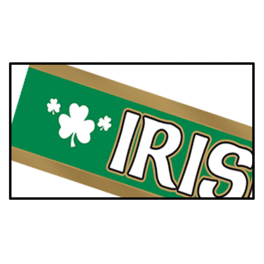 Irish For A Day Satin Sash - Decorations & Props Halloween costumes haunted