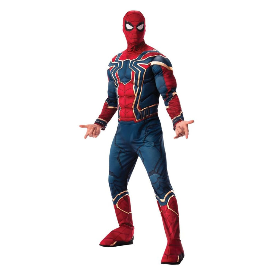 Iron Spider Deluxe Mens Costume Xlarge 44-46 - Mens Costumes Mens Plus Size