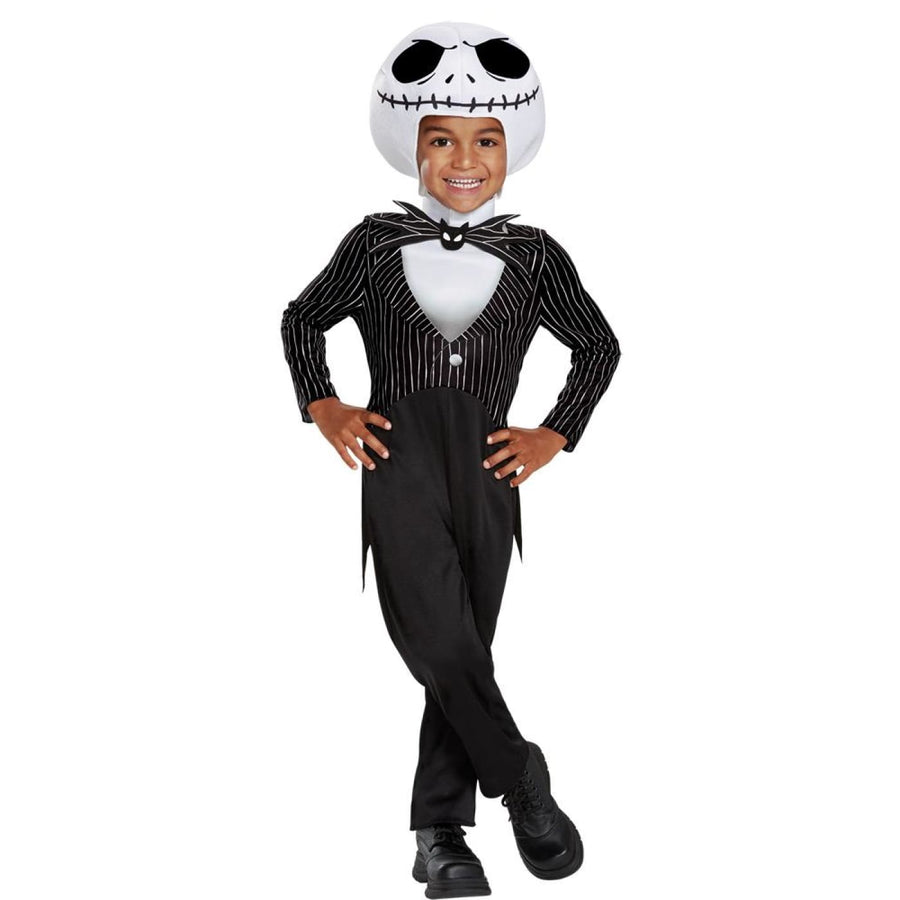 Jack Skellington Toddler Costume 3T-4T - New Costume Toddler Costumes