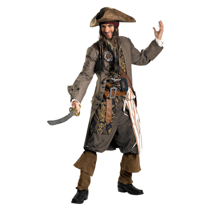 Jack Sparrow Rental 50-52 - Halloween costumes Mens Costumes Mens Plus Size