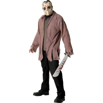 Jason Adult Costume - adult halloween costumes Friday the 13th Costume halloween