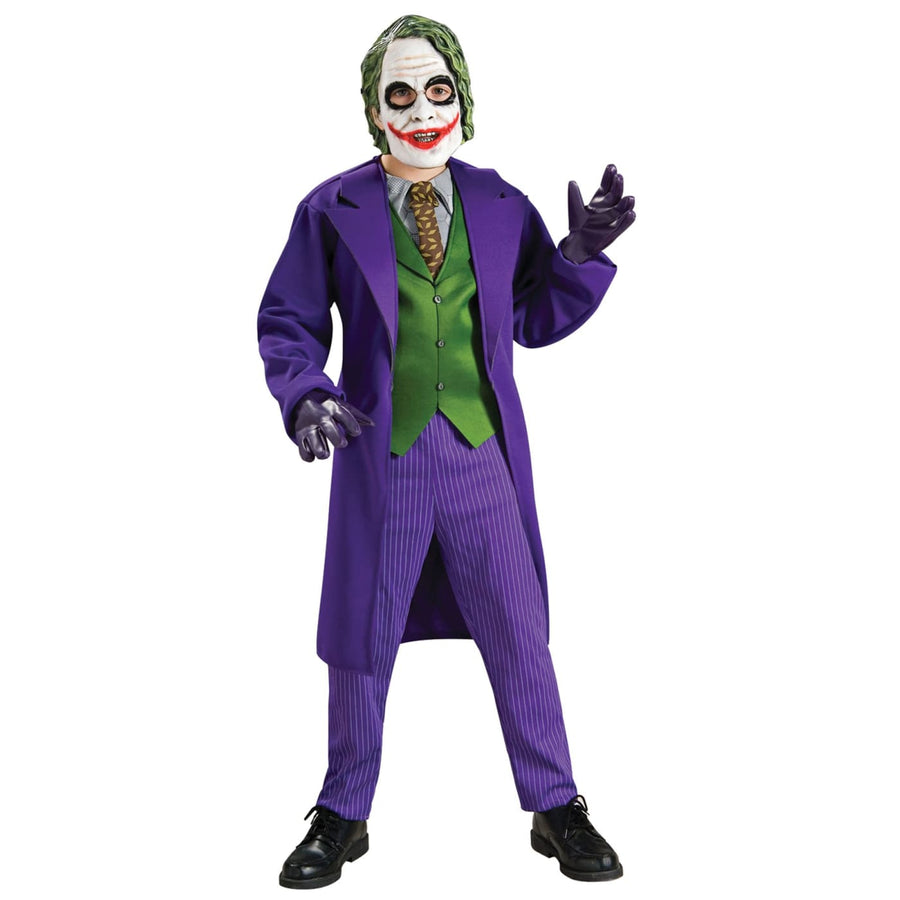 Joker Deluxe Boys Costume Small - Batman Costume Boys Costumes boys Halloween