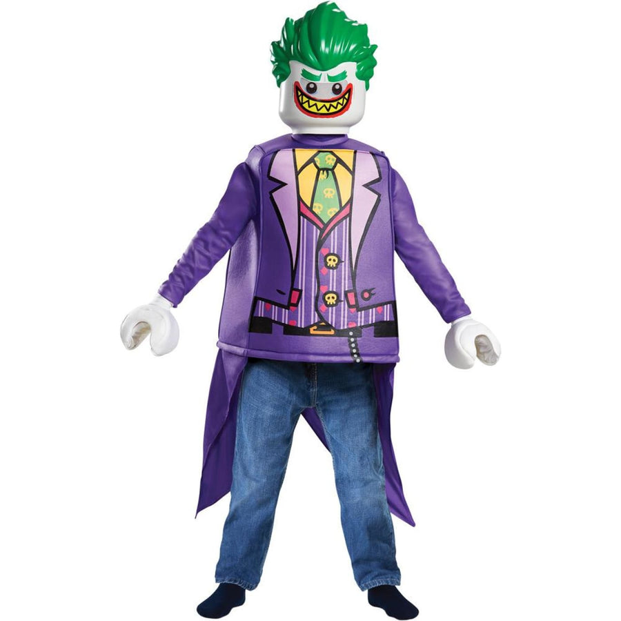 Joker Lego Classic Boys Costume 4-6 - Boys Costumes clown costumes Halloween