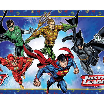 Justice League Party Table Cover - Birthday Party Decorations Birthday Party