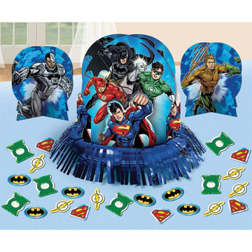 Justice League Party Table Decor - Birthday Party Decorations Birthday Party