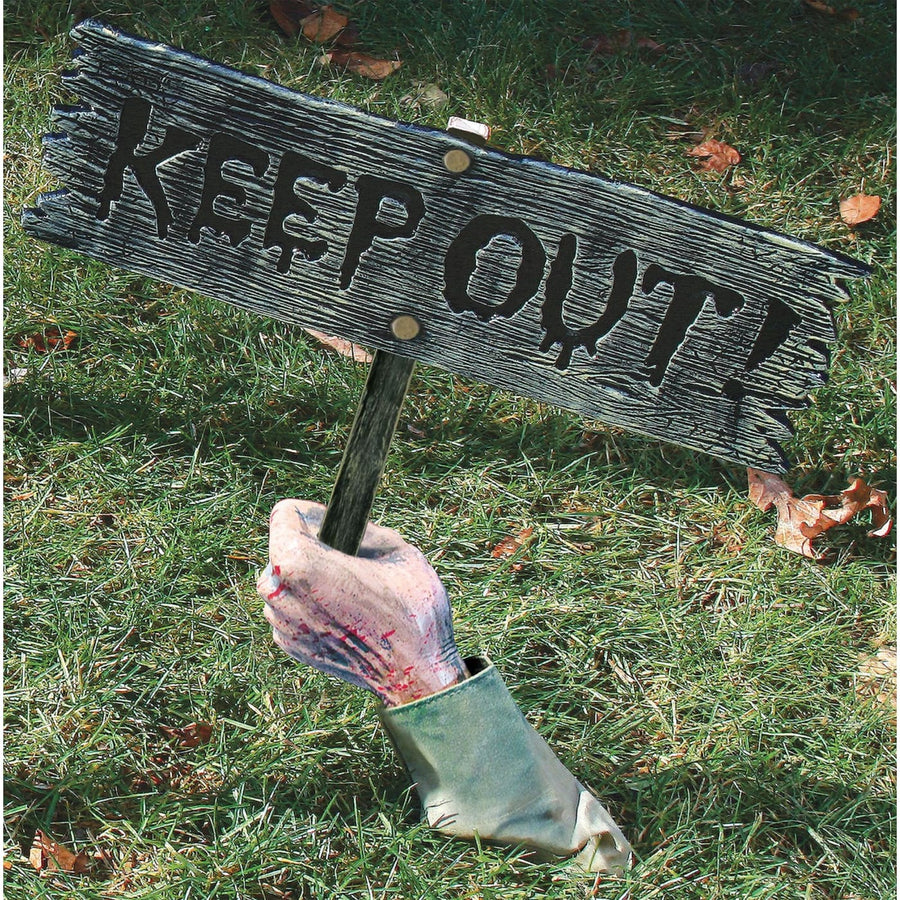 Keep Out Warning From Below! - Halloween costumes
