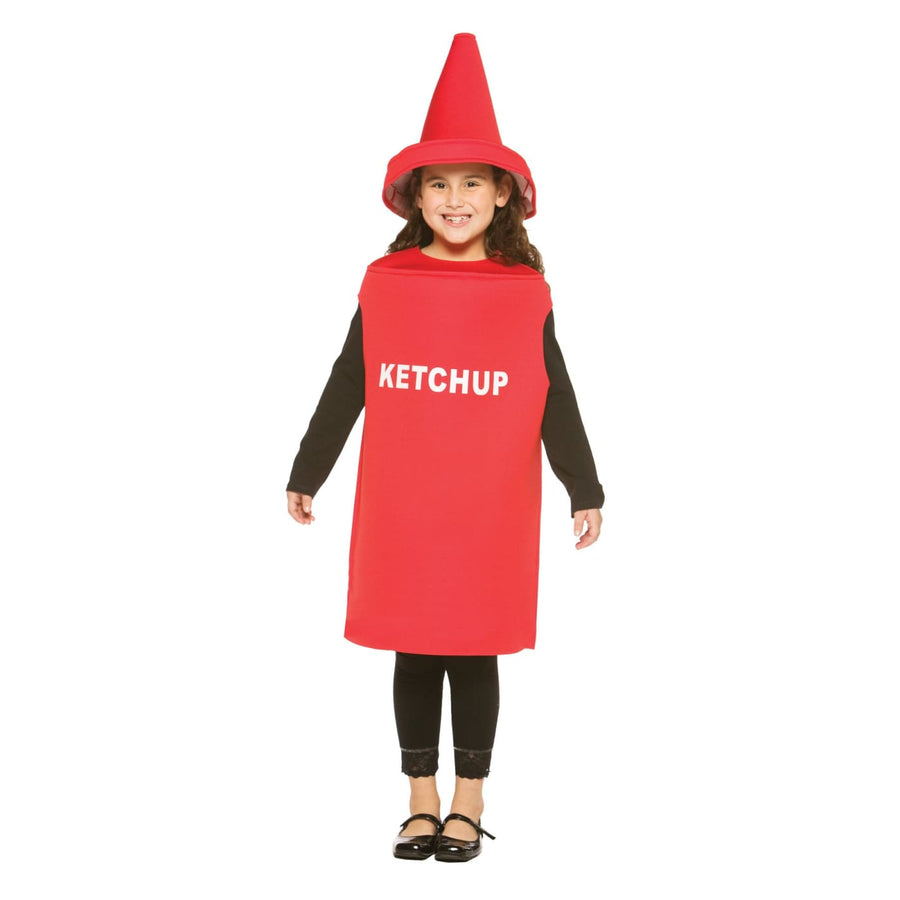 Ketchup Boys Costume Size 7-10 - Boys Costumes boys Halloween costume Food &