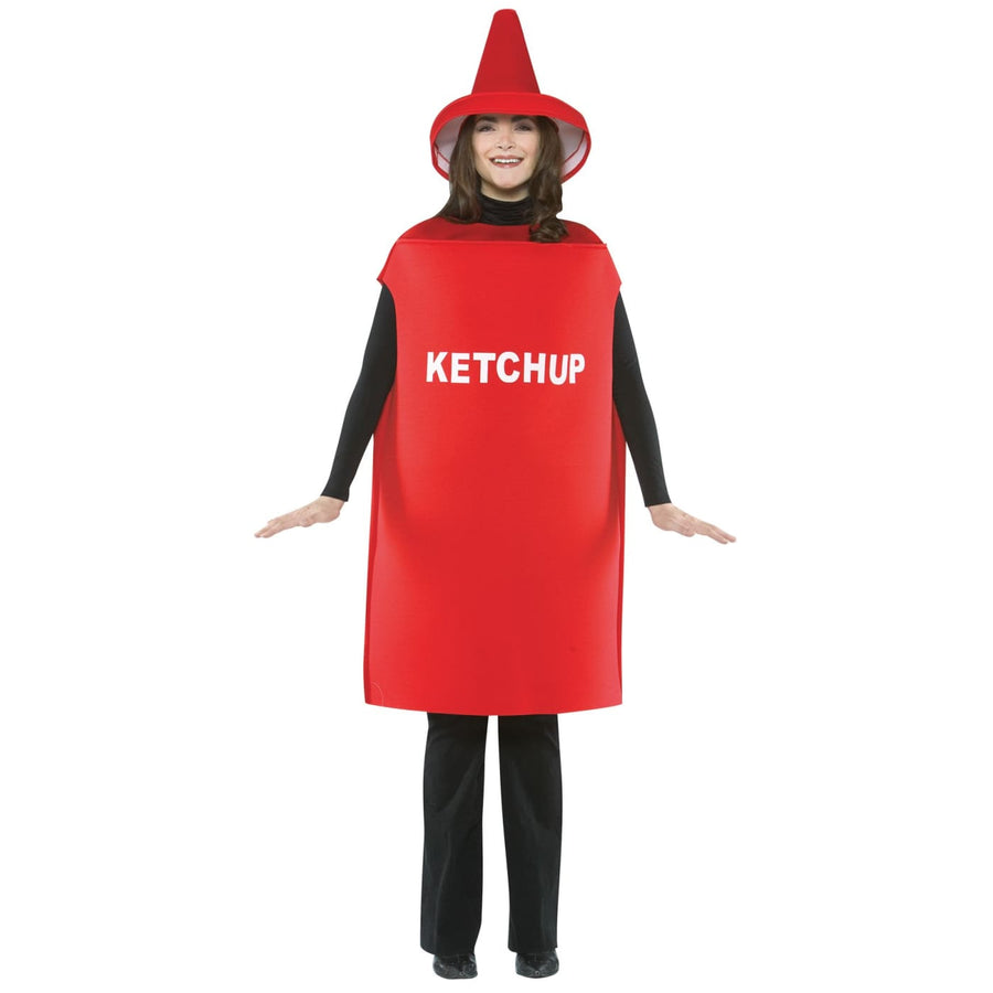 Ketchup Costume Adult - Food & Drink Costume Halloween costumes Miscellaneous