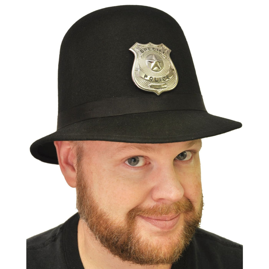 Keystone Cop Hat Quality Med - Convict & Cop Costume Halloween costumes Hats