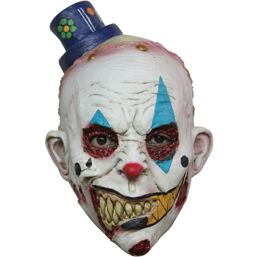 Kid Mimezack Kids Latex Costume Mask - clown costumes Ghoul Skeleton & Zombie