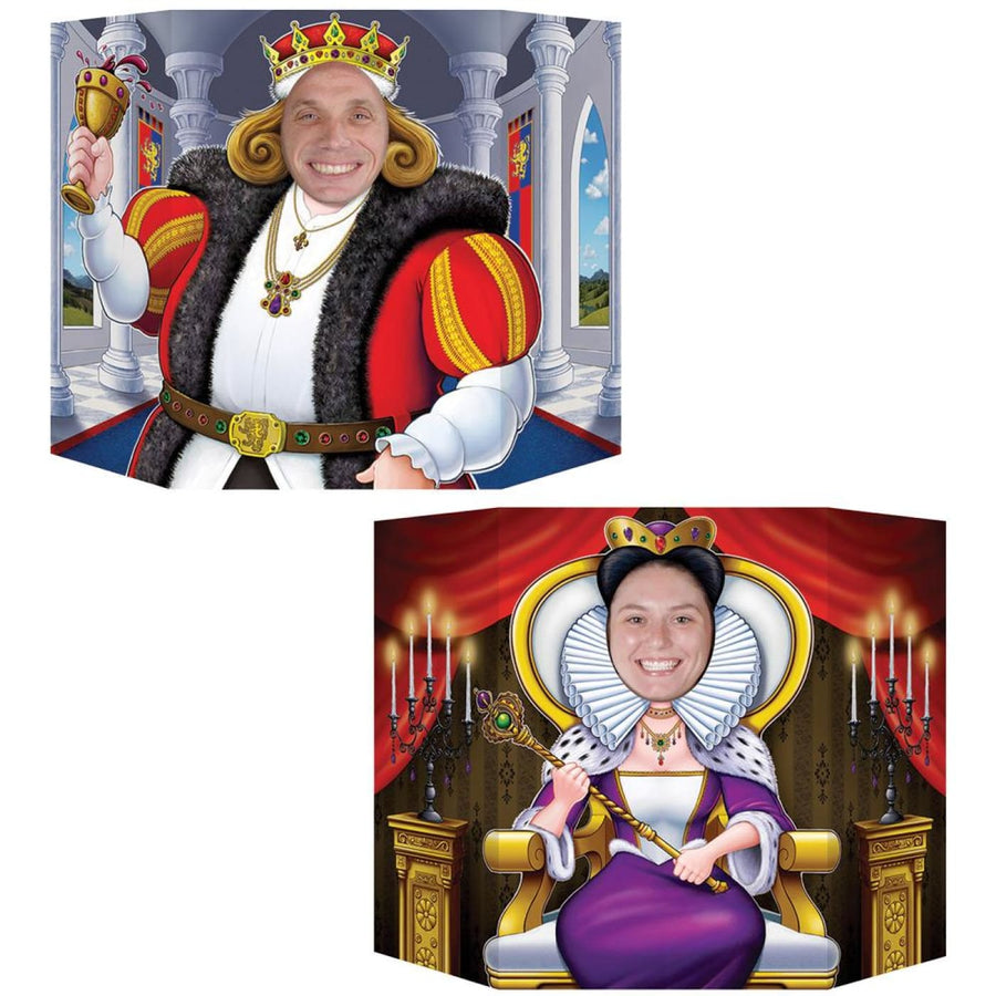 King And Queen Photo Prop - Decorations & Props Halloween costumes haunted house