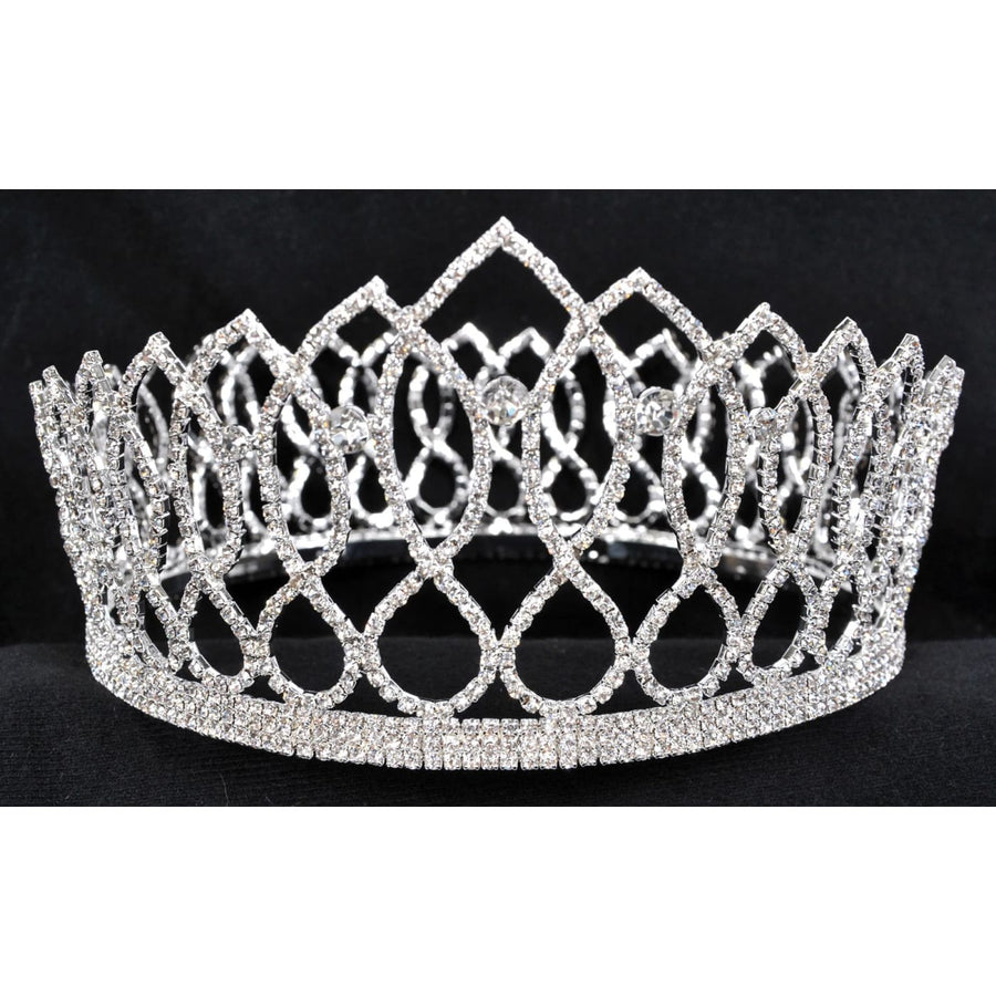 King Crown 4 Inch Adult - Halloween costumes Hats Tiaras & Headgear Royalty &