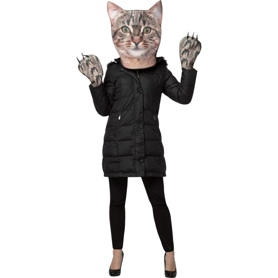 Kitty Kit Photo Print Adult Costume - adult halloween costumes Animal & Insect