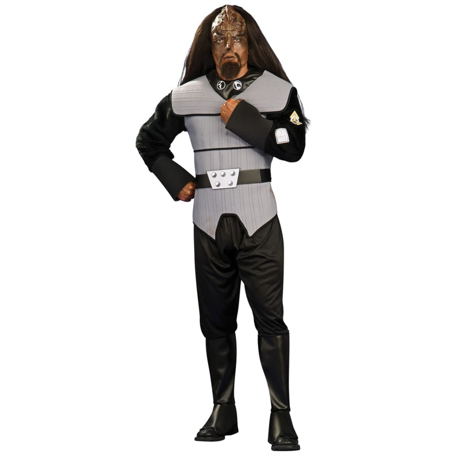 Klingon Deluxe Costume Xl - Halloween costumes Mens Costumes Mens Plus Size